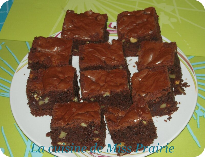 Brownies US (chocolat - noix)
