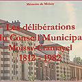 Généathème : les délibérations municipales …