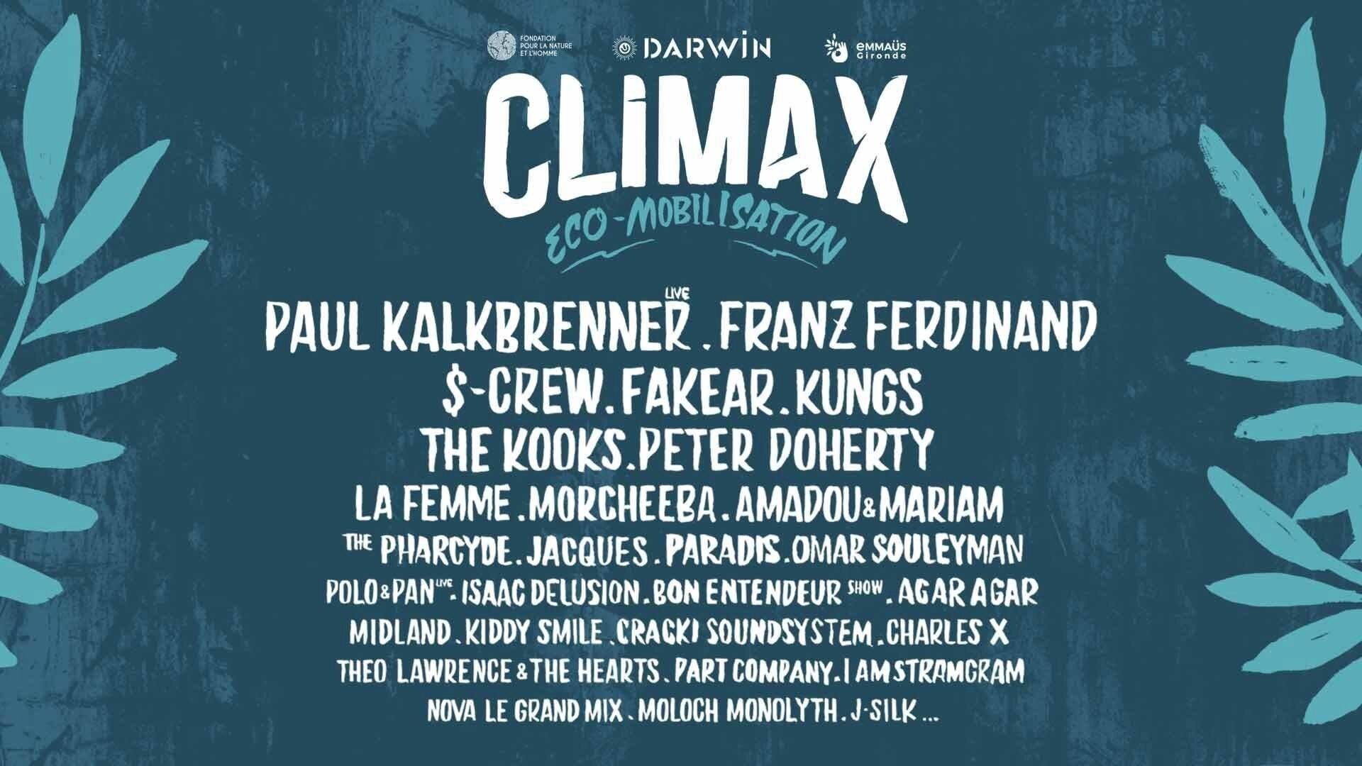 Climax Festival Bordeaux Du 07 Au 09 Septembre 2017 Rpc