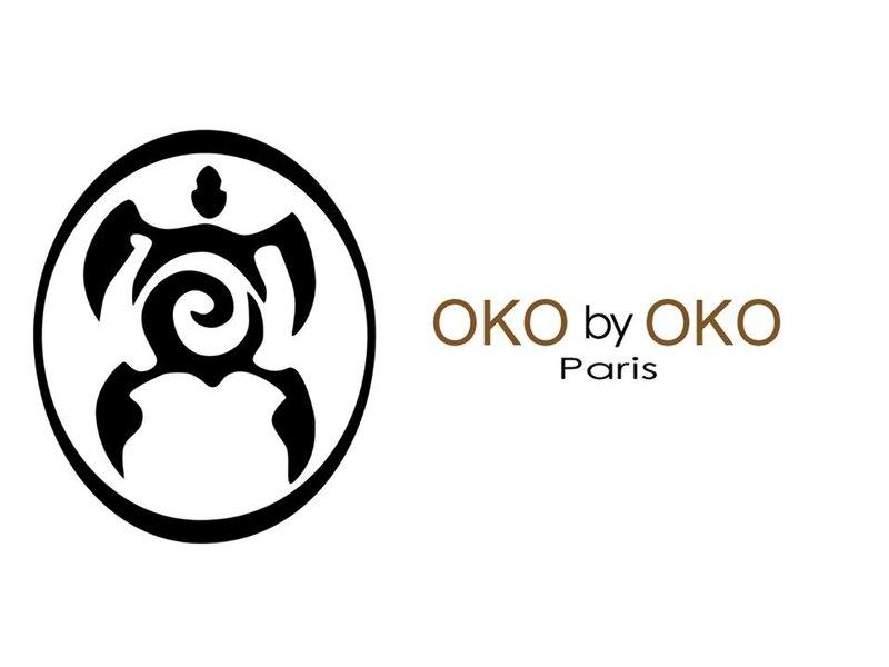 Logo OKO by OKO Paris vertical BD