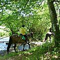 balade equestre gastronomique à La Lucerne d'Outremer (83)