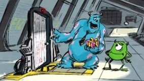 Monstres Academy - Storyboard de Monsters, Inc 2 - Lost in Scaradise 01