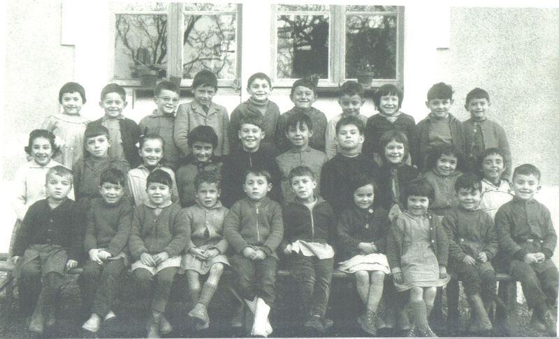 Ecole communale des Lèves, 1960-1961, classe de Mme Pénisson