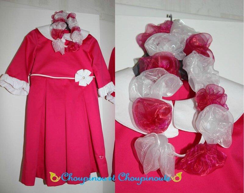 robe Capucine avec couronne