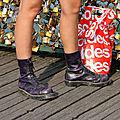 Chaussures, soldes, Pont des arts, cadenas_3530