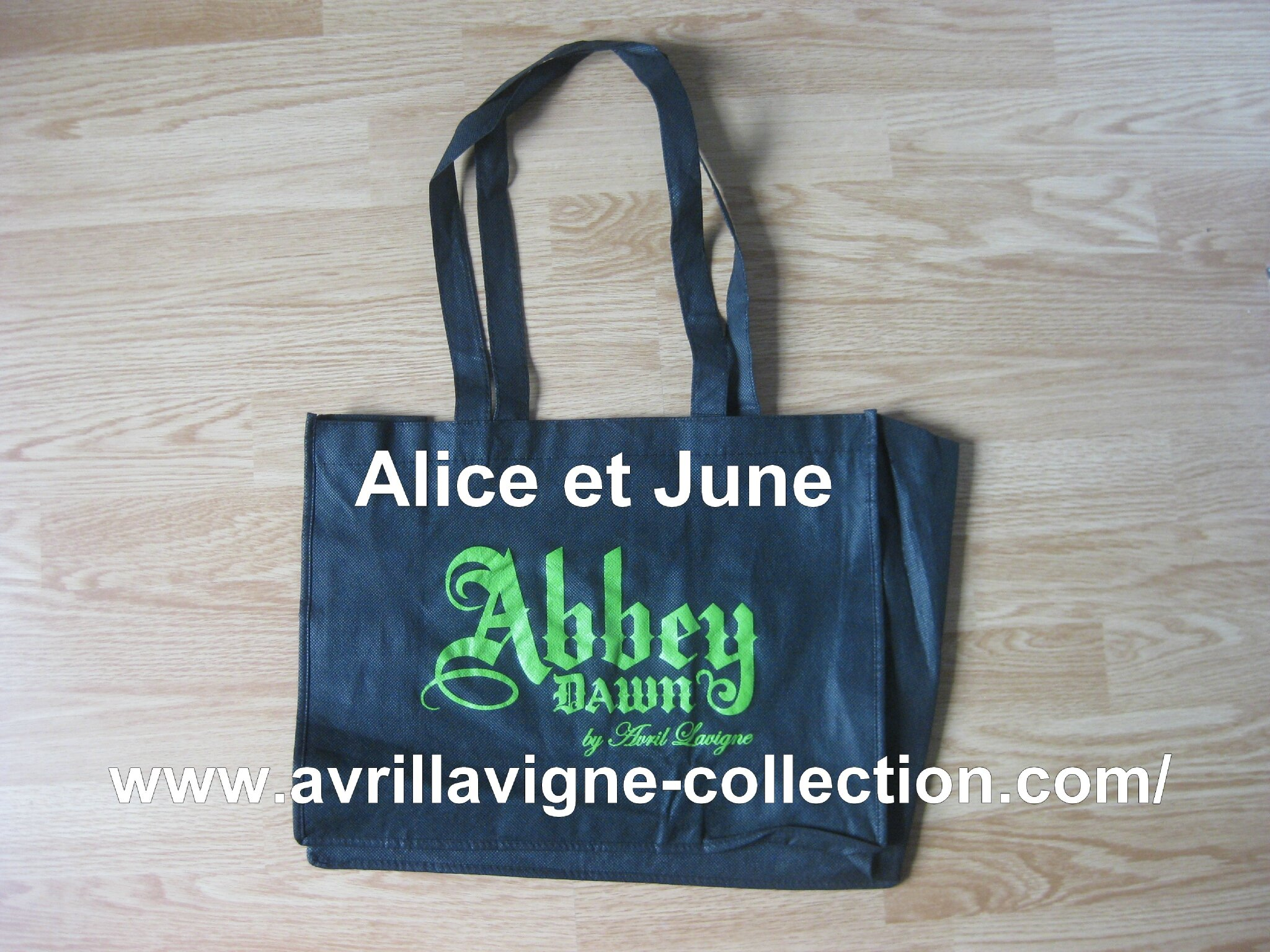 Sac promotionnel Abbey Dawn Pologne (2012)