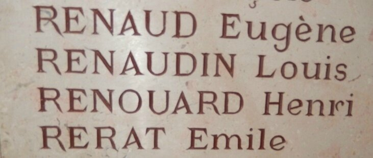 renaud inscription