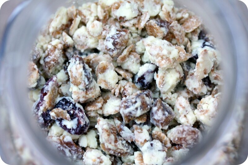 granola enrobe de chocolat amande blog chez requia cuisine et confidences