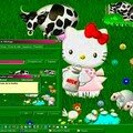 Theme de bureau hello kitty