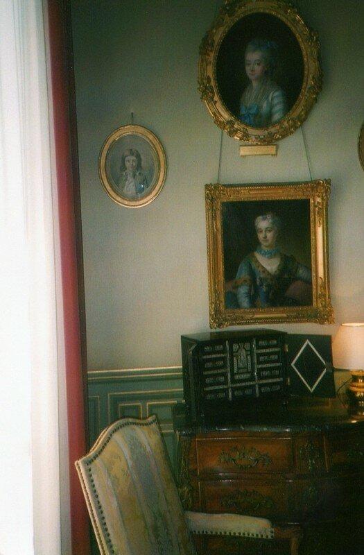 Portrait suposé de Louis XVII au chateau de Cheverny