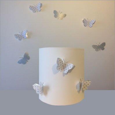 De jolies décorations papillons pour la chambre des enfants ...