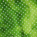 batik vert à pois