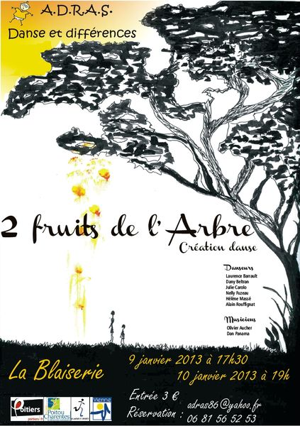 2 fruits de l'arbre blaiserie