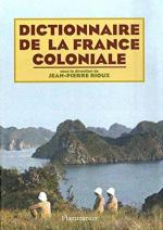 Dictionnaire France coloniale, couv