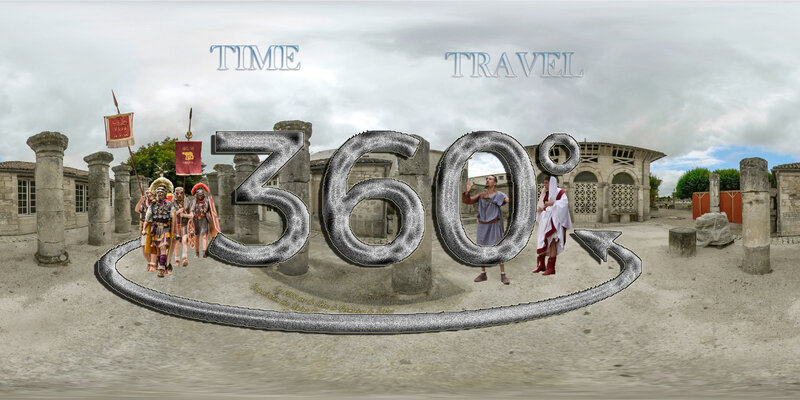 Time Travel Organisation des Légions Romaines d'Auguste à Alexandre Sévère 2000 ans de l'arc Germanicus de Saintes