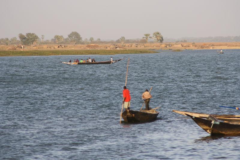 Sur le Niger