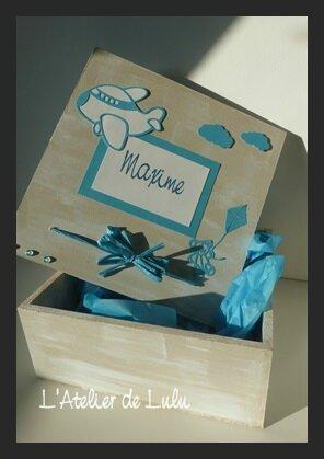 boite de naissance faitmain et originale