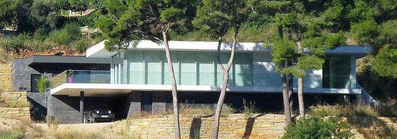 Villa contemporaine - architecte cassis
