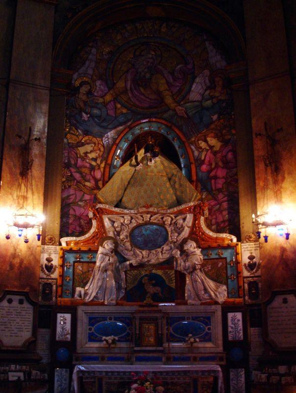Toulouse, église Notre Dame de la Daurade, statue Miraculeuse de Notre Dame
