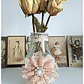Mini Vase Shabby Romantique