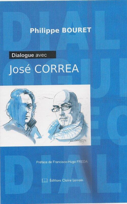 Couverture face Dialogue avec José Correa