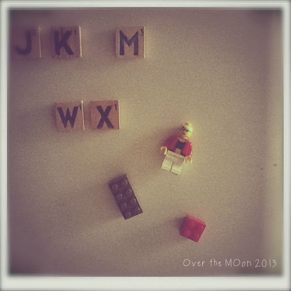 Lego magnets