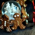 ☆ calendrier de l'avent : 1 surprise par jour ☆ jour 8 : gingerbread men (bonhommes en pain d'épices)