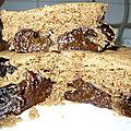 Gâteau micro-ondes châtaigne et pruneaux (végétalien)