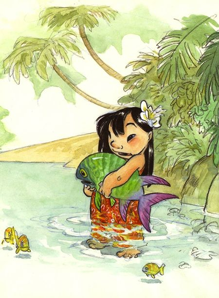 Chris Sanders - Lilo & Stitch 01