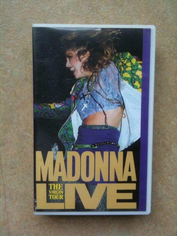 Virgin tour VHS