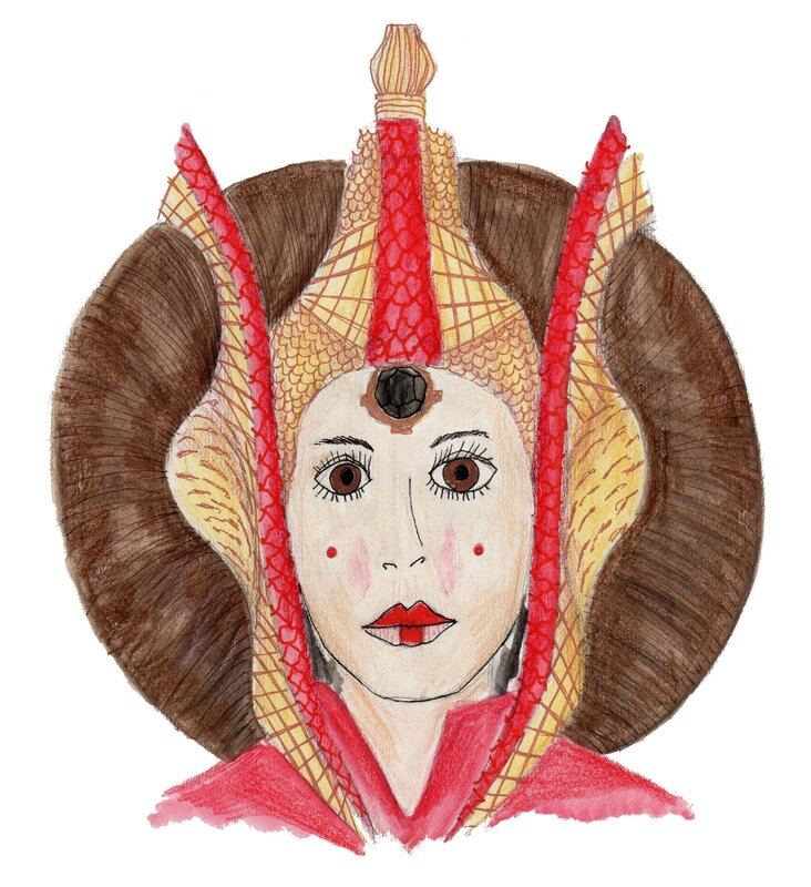 draw on monday MayThe4ThBeWithYou aliceetsandra