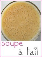 soupe à l'ail - index