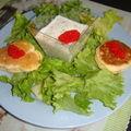 Verrine crabe mascarpone