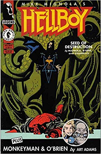 dark horse hellboy seed of destruction 01