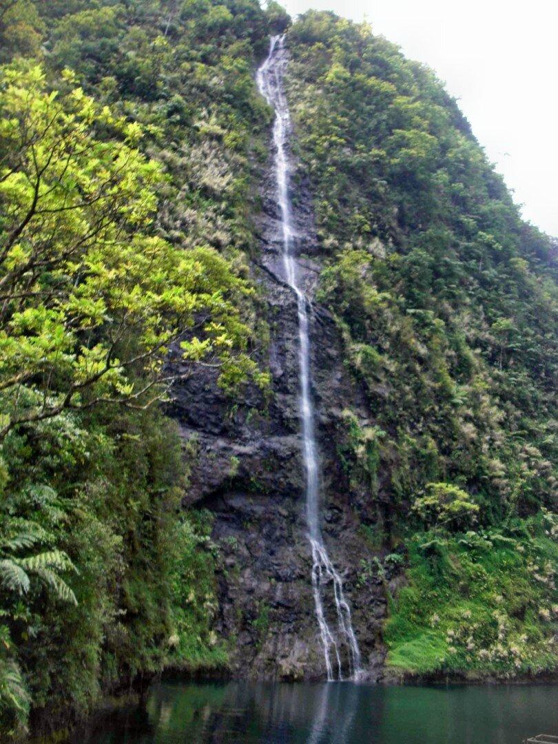 L'intérieur du cratère qui a fait naître l'île de TAHITI - 27