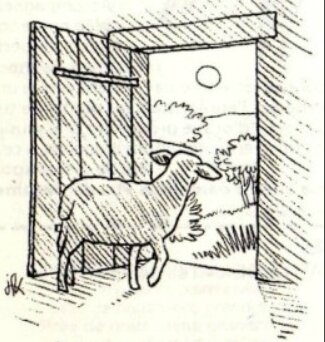 Porte des brebis, Jean-François Kieffer