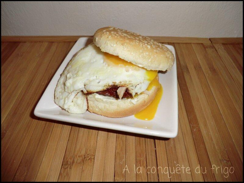 Egg-burger à ma façon