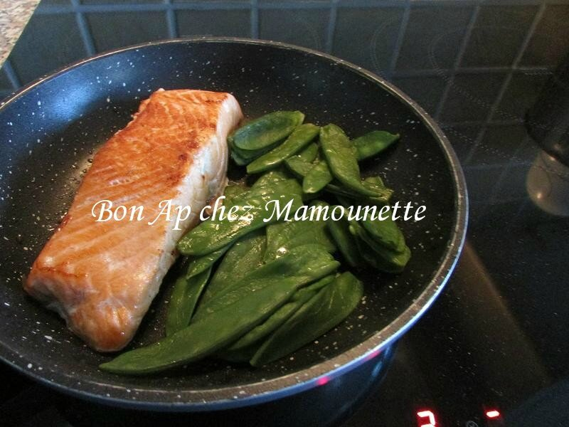 saumon et pois gourmands 003