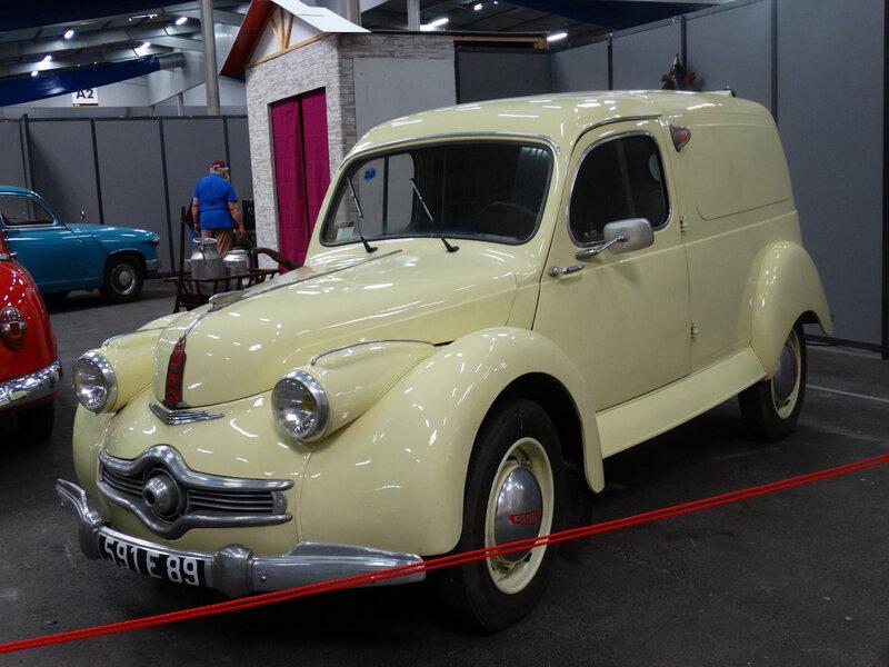 PANHARD Dyna X K184 fourgonnette 1950 Besançon (1)