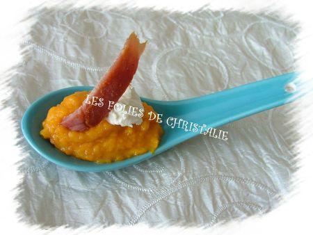 Crème de carottes 4