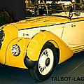 1921 - talbot devient une legende de la competition automobile !