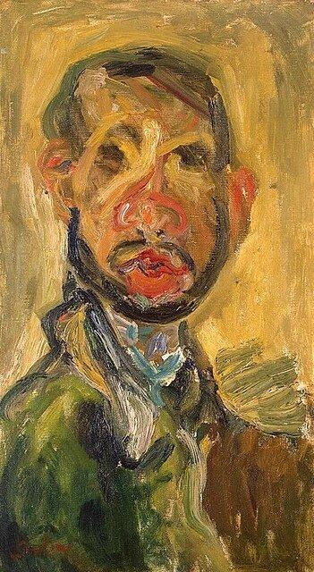 Soutine - Autoportrait 1916