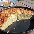 Gâteau moelleux pommes & amandes