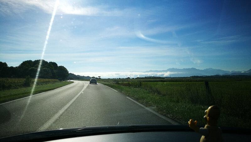 Oloron-Sainte-Marie, sur la route (64)