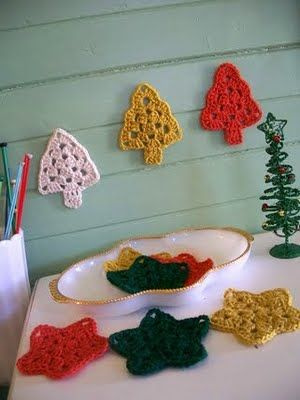 star_and_tree_crochet_pattern