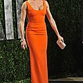 Cameron Diaz robe orange 90 2012