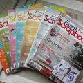 Je vends: magazines de scrap!