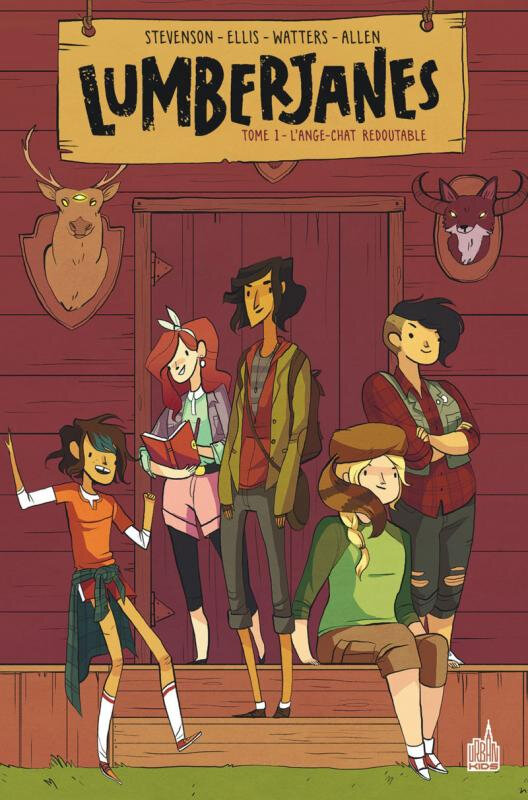 urban indies lumberjanes 01 l'ange-chat redoutable