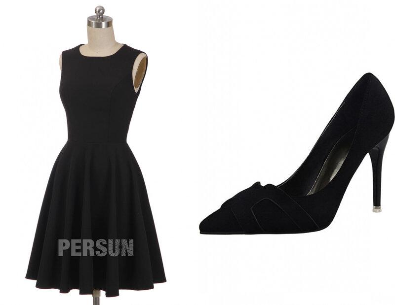 escarpin noir pour petite robe noire