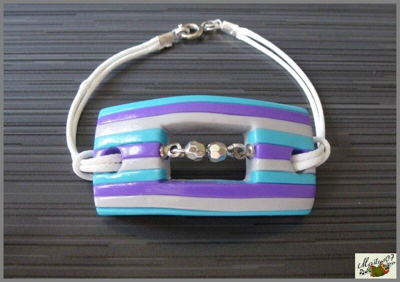 bracelet rayures 3